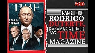 Pangulong Rodrigo Duterte, kasama sa cover ng Time Magazine
