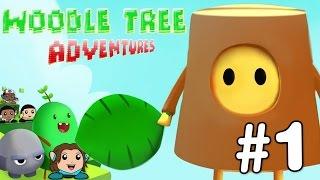 WOODLE TREE ADVENTURES #1 - Gameplay Comentado em Português PT-BR