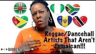 Successful Reggae/Dancehall Artists That Are Not Jamaican! 