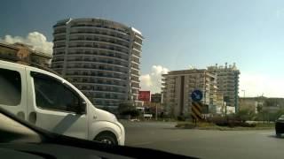 Турция. Дорога из Антальи Аланья Махмутлар
