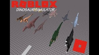 Roblox Dinosaur Simulator - Emergency Announcement! + All Remodeled Dinos