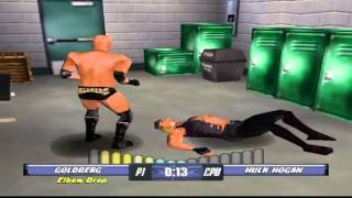WCW Backstage Assault - Goldberg - WCW Heavyweight Championship (PS1)