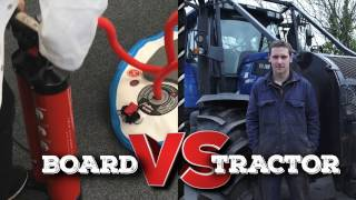 Test 8: Board Vs Tractor