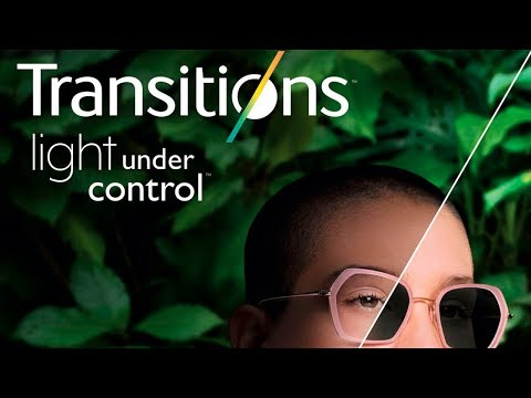 Discover Light Under Control Transitions Lenses