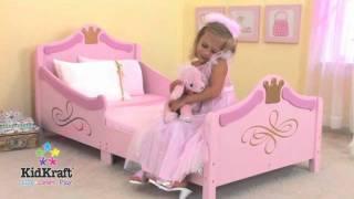 Kidkraft Childrens Princess Toddler Bed