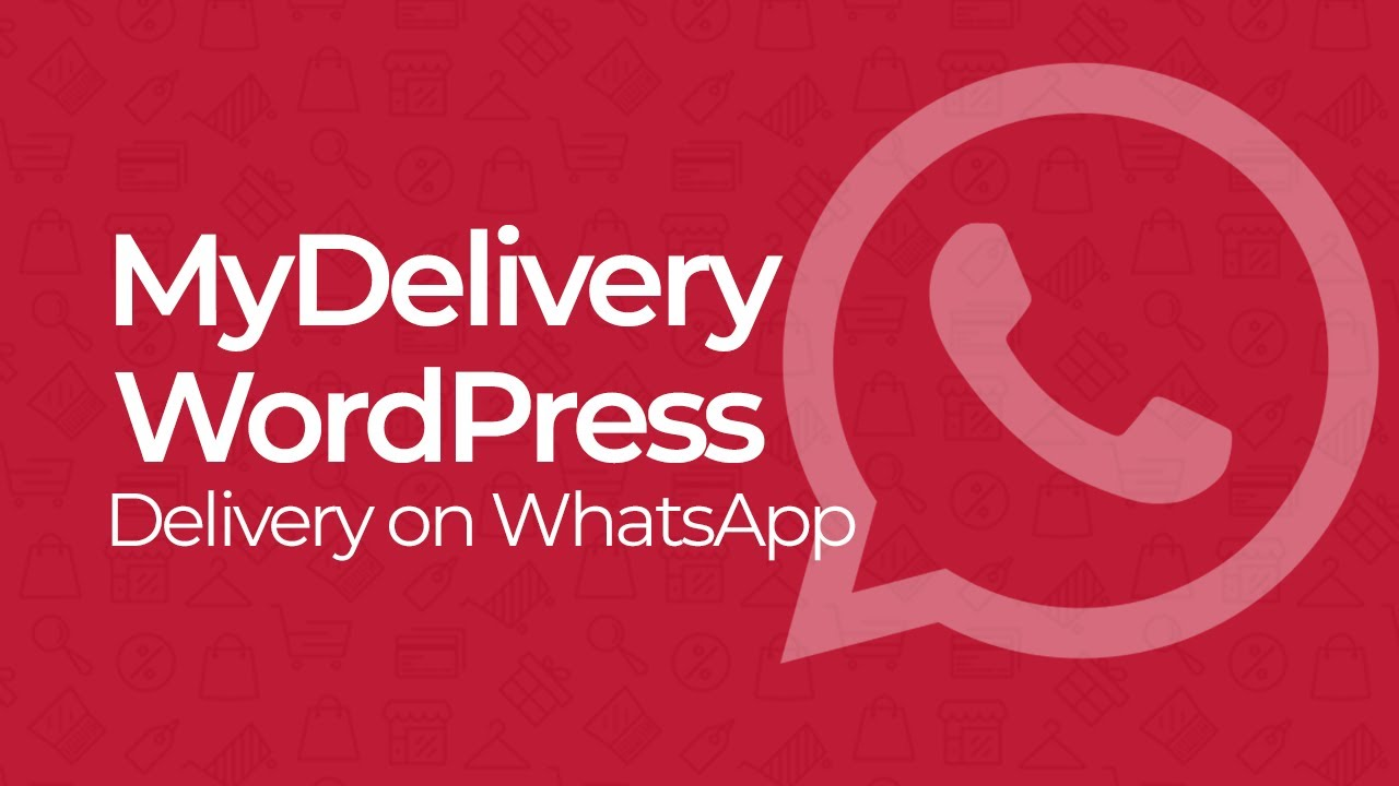 MyDelivery WordPress 1.8.3 NULLED – Delivery in WhatsApp for WordPress