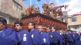 """Procesión """"SEÑOR DE BURGOS 2014"""" - 7ma Cuadrilla; Banda SAN PEDRO de Huánuco - Marcha MADRE EN SUEÑO"""