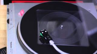 Portopak - Fuzzy EP - Lathe Cut Record demonstration