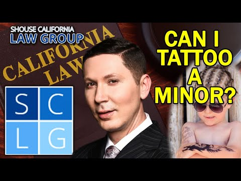 Penal Code 653 PC: What Happens if I Tattoo a Minor?