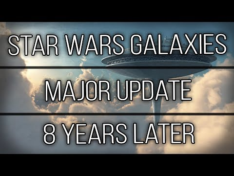 Star Wars Galaxies: Fan Made Massive Update…. 8 Years After Being Shutdown