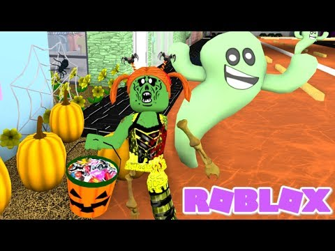 Bloxburg Halloween Morning Routine... The Witch Got Revenge on The Bully! (Roblox Roleplay)