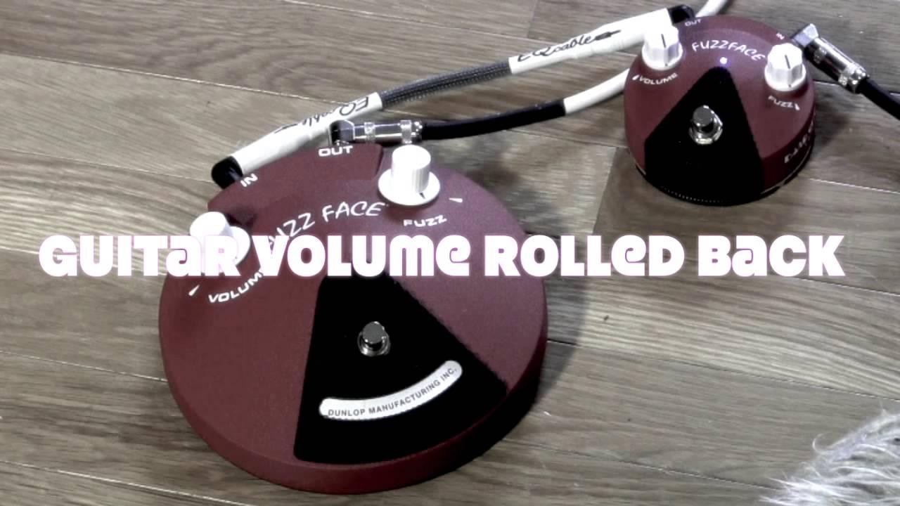 dunlop band of gypsys jimi hendrix fuzz large vs mini comparison shootout youtube. Black Bedroom Furniture Sets. Home Design Ideas