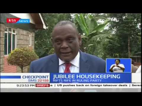 Jubilee set to convene in an effort to mend rifts in the party