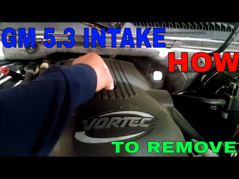 GM 5.3 how to remove the intake manifold. step by step