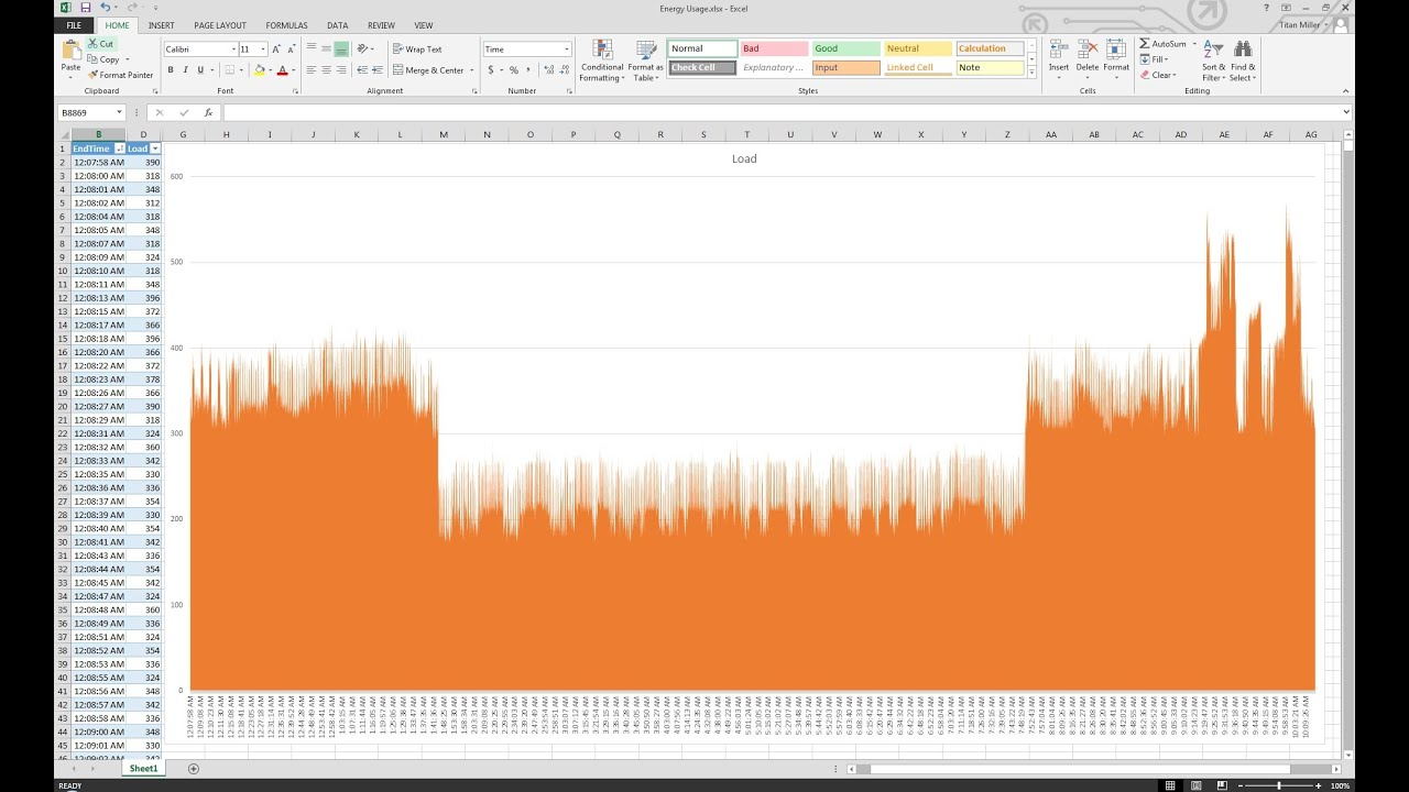 Real time electricity monitoring graph in microsoft excel youtube real time electricity monitoring graph in microsoft excel ccuart
