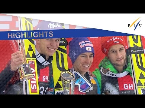 Highlights | Kraft closes in on overall title with win in Planica FH #1 | FIS Ski Jumping