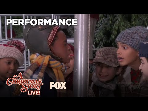 """Sticky Situation"" Performance   A CHRISTMAS STORY LIVE"