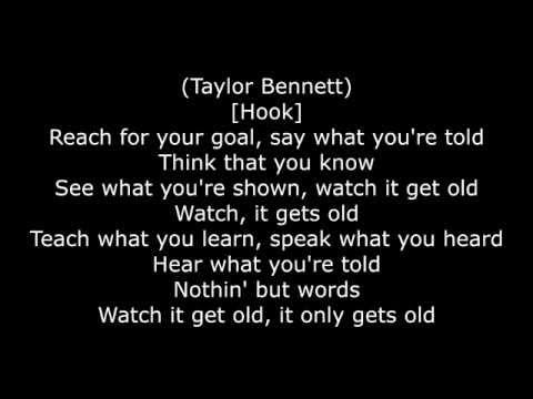 Taylor Bennett ft. Chance The Rapper - Broad Shoulders (Official Lyric Video)