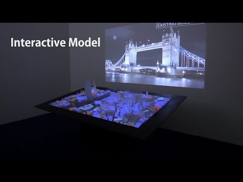 Interactive Scale Model - Functionality