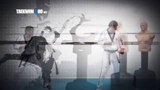 3 Lead Leg Kicks in Taekwondo | Front Kick, Round House Kick and Side Kick tutorial