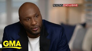 Lamar Odom opens up about his near-death experience and 'overcoming tragedy' l GMA