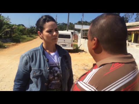 Programa Fome de Tudo gravado na Comunidade Maruaga
