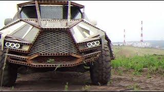Железные монстры: вдохновлённый «Безумным Максом» иркутский мастер создаёт необычные автомобили