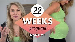 22 WEEKS PREGNANCY UPDATE // Baby Responding to Sounds?  Symptoms, Cravings & Amazon Welcome Box