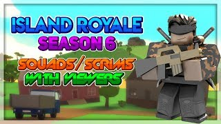 🔴 [🎃Spooky Season] Roblox Island Royale Scrims and Squads with Fans [kosmik ate me beyblads] 🔴