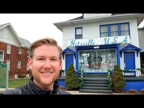 #848 Inside the MOTOWN Studio A - HITSVILLE U.S.A. Museum - Daily Travel Vlog (12/2/18) Berry Gordy