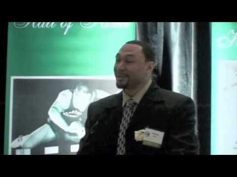 Charlie Batch Eastern Michigan Hall of Fame Induction 2009