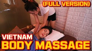 베트남 바디마사지 풀버젼! 불면증 치료 ASMR   Full Body Massage in Vietnam(Full Version)