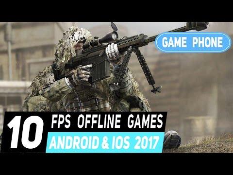 top 10 เกมยิงแบบออฟไลน์บนมือถือ 2017