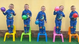 Five little monkeys 🙈 동요와 어린이 노래  Kids Song #4