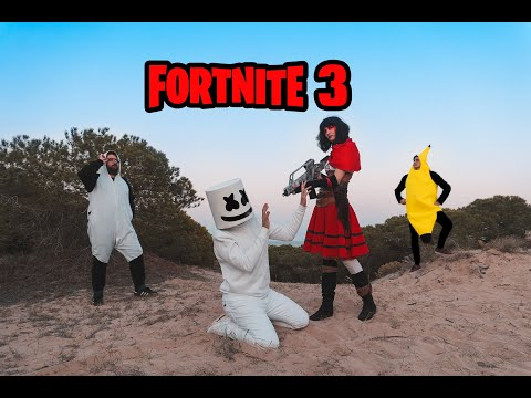 FORTNITE - PERSONAJES EN LA VIDA REAL 3