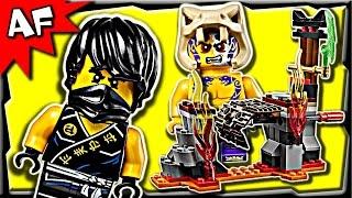Lego Ninjago Lava Falls 70753 Anacondrai Jungle Stop Motion Build Review