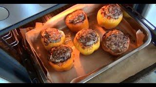 Фаршированный перец в духовке(Готовим фаршированный перец в духовке Мой канал https://www.youtube.com/user/MrKifa48 Моя партнерка рекомендую https://youpartnerwsp..., 2015-04-09T02:56:42.000Z)