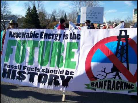 Interview about Open Letter to Shale Oil and Gas Companies operating in New Brunswick April 30 2013