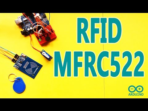 How To Make Arduino Security Access Lock | RFID MFRC522