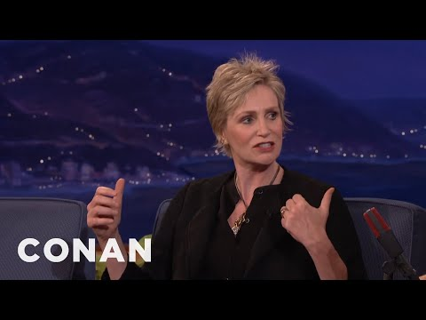 Jane Lynch Doesn't Particularly Like People   CONAN on TBS