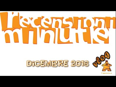 Recensioni Minute Vlog [084] - Dicembre 2016