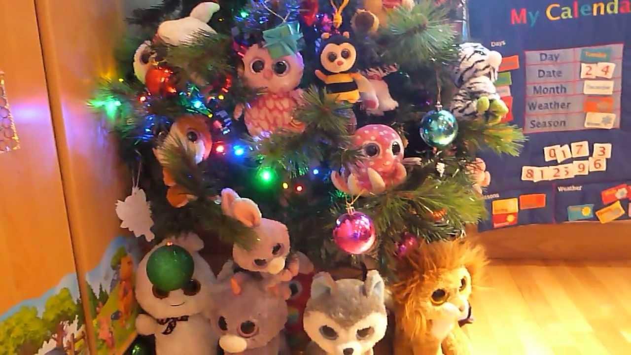 Beanie Boo Christmas Tree - YouTube