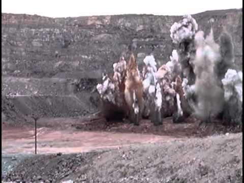 Make The Cut >> open pit mine blasting - YouTube
