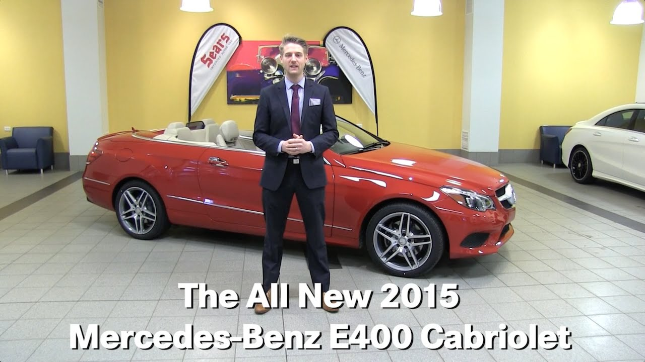 Review new 2015 mercedes benz e400 e class cabrio for Mercedes benz bloomington mn