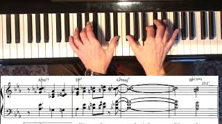 Creating an Arrangement - Green Dolphin Street, Jazz Piano College 344