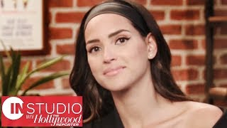 "Adria Arjona On Melissa Mccarthy ""she Held My Hand And Took Me Along The Ride"" 