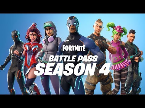 BATTLE PASS SEASON 4 | AVAILABLE NOW