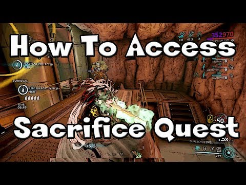 Warframe - How To Access The Sacrifice Quest - Requirements (New & Vet Players)