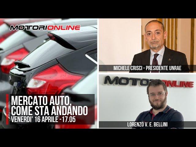 MERCATO AUTO, come sta andando | Intervista speciale a Michele Crisci, presidente UNRAE