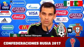 México vs. Portugal 2017 tercer Lugar Copa FIFA Confederaciones - Previo